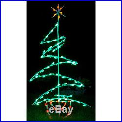 LED ZIG ZAG TREE DECORATION holiday seasonal Christmas Winter decor ornament