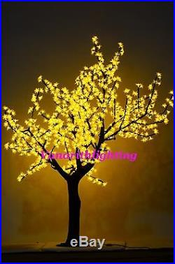 LED artificial cherry blossom tree light outdoor garden wedding party decor 6ft