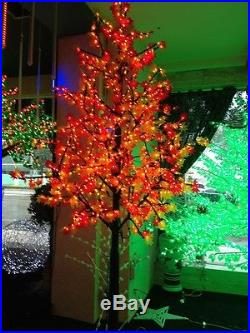 LED artificial maple tree christmas tree light 5ft636LEDs for outdoor decor