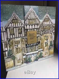 LIBERTY LONDON BEAUTY ADVENT CALENDAR Brand New Worth £499 Christmas 2017