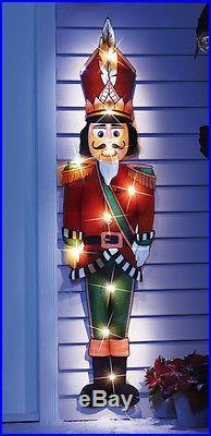 Lighted Nutcracker Christmas Outdoor Holiday Yard Decor