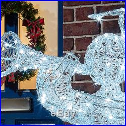 Large Angel Ornament LED Lights Outdoor Christmas Decoration Festive Xmas Decor