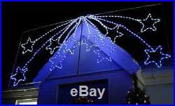 Large Christmas Animated LED Star Burst Display Rope Light Silhouette Xmas Decor