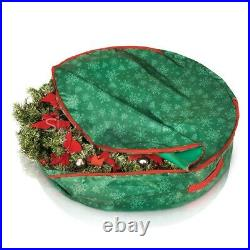Large Christmas Wreath and Decoration Storage Container Bag Xmas Items up to 75