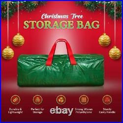 Large Heavy Duty Artificial XMAS CHRISTMAS TREE Home STORAGE BAG Zip Sack Holder