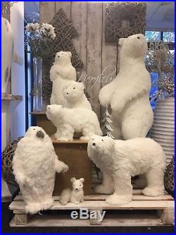 Large Polar Bear Family. Corporate / Retail display / Christmas Grotto, Penguin