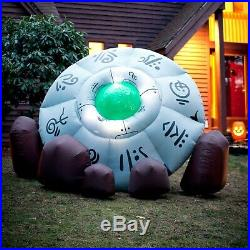 Large UFO Spacecraft Inflatable Halloween Prop Decoration Outdoor Yard Lighted