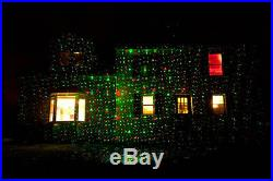 Laser Christmas Lights (Professional Grade) Red & Green weatherproof withremote