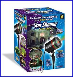 Laser Star Shower Christmas Outdoor Projector Light Holiday Color Decoration New