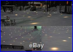Lawn Christmas Lights LED Holiday Outdoor Decoration Illuminated White Xmas NEW