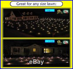 Lawn Lights Christmas Holiday LED Outdoor Decoration Illuminated Yard White