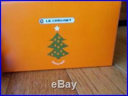 Le Creuset Holiday Ornament Kiwi, Green, Stack of Ovens Christmas