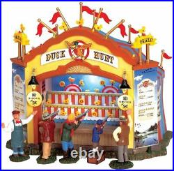 Lemax Carnival Village Duck Hunt Animated Building Side Stall 64487 Retired