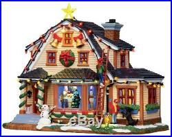 Lemax Weihnachtsdorf Led Porzellanhaus m. Musik Decorating the House