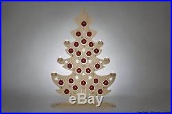 Lichterspitze Weihnachtskalender Baum Höhe ca 115 cm NEU Adventskalender Holz