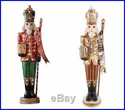 Life Size 6' Grand Nutcracker Red Traditional Christmas Decor Select Color