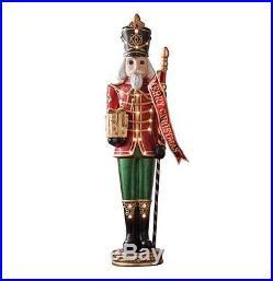 Life Size 6′ Grand Nutcracker Red Traditional Christmas Holiday Decor