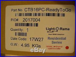Light O Rama CTB16PC-G3 Controller Ready-ToGo LOR Christmas Lights BRAND NEW