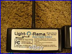 Light O Rama EEL Easy Light Linker Pair RF-V4 LOR Christmas Lights Upgraded FW