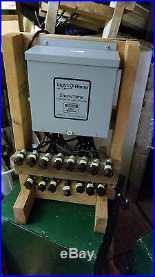 Light-O-Rama Lighting Controller for Christmas Lights withCustom Frame