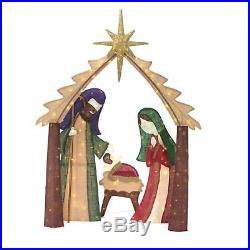 Lighted Nativity Scene Holy Family Display Outdoor Christmas Yard Decoration NEW