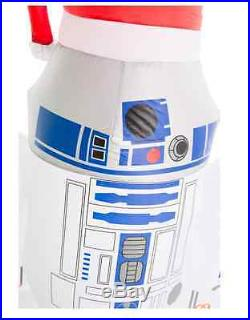 Lighted Star Wars Christmas Holiday Droids Inflatable Lawn Ornament Display