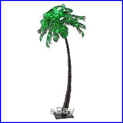Lightshare 96LED Palm Tree Green Lights