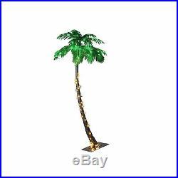 Lightshare Lighted Palm Tree, Large 7-Feet