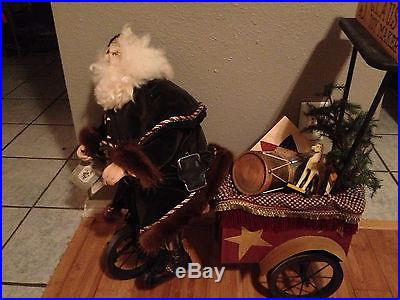 Limited Edition Bethany Lowe 1997 Dream Peddler Santa Claus 20 of 30 RARE