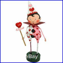 Lori Mitchell Valentine's Day Loves Fool Heart Figurine Vintage Style Decoration