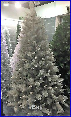 Luxury Christmas Tree Silver Tip Fir 6ft Large Snow Dusted by Premier