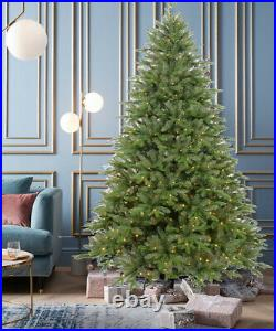 Luxury Pre Lit 6ft Christmas Tree Metal Stand Eco-Friendly LED Lights Realistic