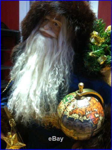 Lynn Haney Christmas Santa 1993 Celestrial Wizard With