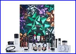 MAC Beauty Advent Calendar 2018 New mascara fluidline ruby woo velvet teddy fix+