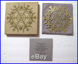 MMA Sterling Silver & Gold A CHRISTMAS STAR Ornament Metropolitan Museum of Art