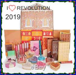 Makeup I Heart Revolution Advent Calendar 2019 Christmas Gift Set