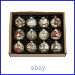 Mark Roberts Christmas 2020 12 Days of Christmas Ornament, Set of 12, 4.5 inches