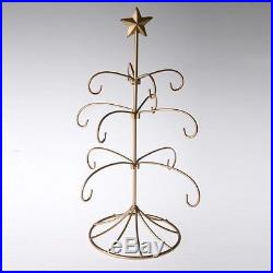 Merck Family's Old World Christmas Metal Bride's Tradition Tree