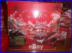 Mikasa Holiday Crystal Serving Ware 20 Piece Set