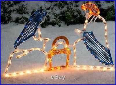 Miles Kimball Lighted Outdoor Nativity Set