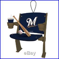 Milwaukee Brewers Stadium Chair Christmas Ornament