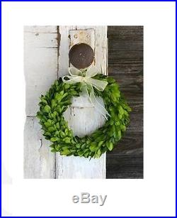 Mini 6 Preserved Boxwood Wreath