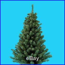 Miniature Artificial Christmas Pine Tree with Round Wooden Base 24 Inch New
