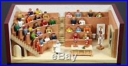 Miniaturstübchen Hörsaal Miniaturstube Seiffen Erzgebirge DEKO NEU 30/73