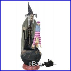 Morris MR124446 Stew Brew Witch with Kid Witch Fog