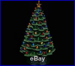 Mr. Christmas 17 Oversized Illuminated Plug In Nostalgic Tree (brand New)