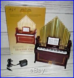 Mr. Christmas Animated Holiday Musical Organ Inspirational Songs & Xmas Carols