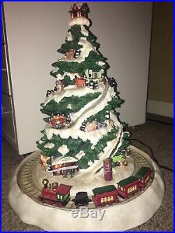 Mr Christmas Christmas Eve Express Musical Light Up Tree Village Train Animated