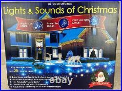 Mr Christmas Outdoor Lights and Sounds of Christmas Musical Light Show 67791 2FB