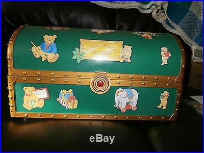 Mr Christmas Santa S Musical Toy Chest With Box Vintage
